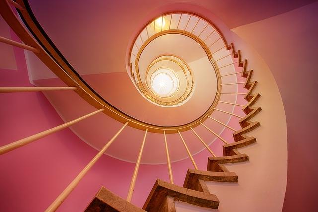kamené schody