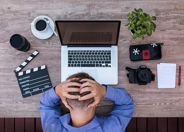 zoufalý blogger