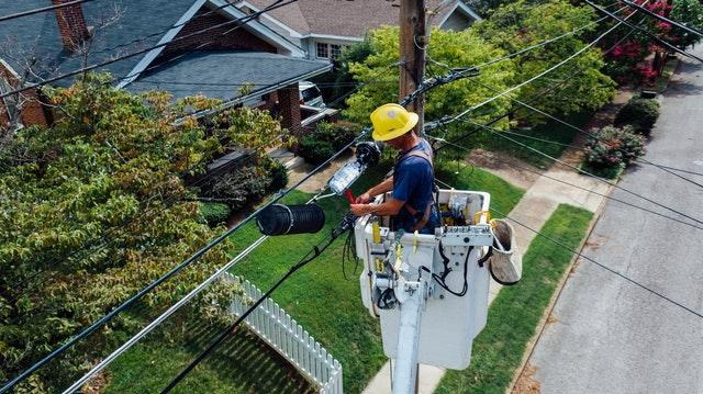 elektrikář v akci