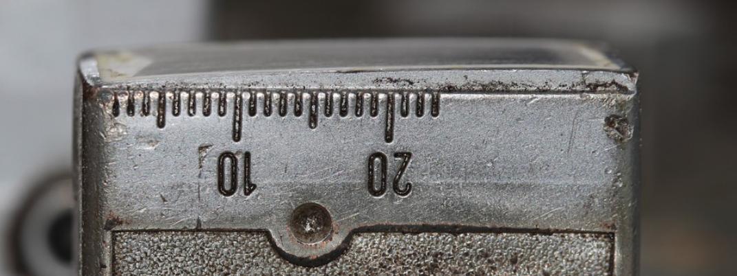 měření milimetrů