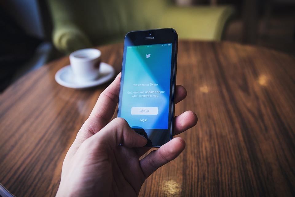 Twitter má stále velkou návštěvnost